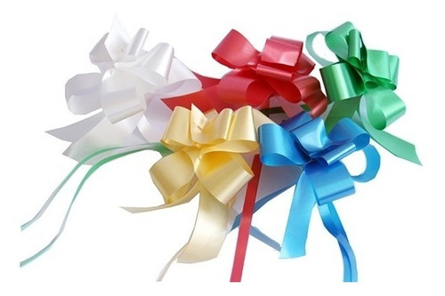 cintas de regalo autoarmables