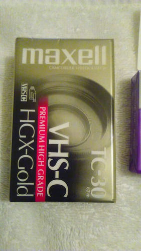 cintas de video camara