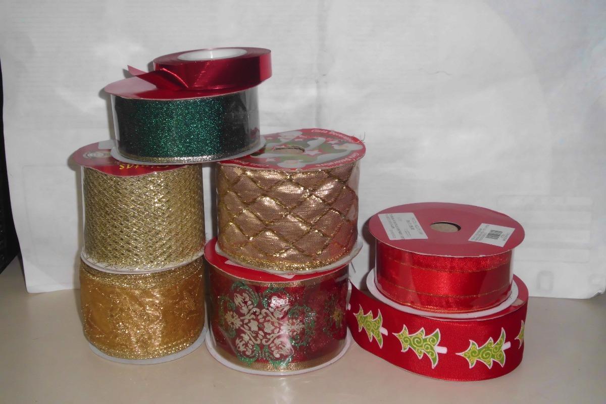 a69b1cd5be5dd cintas decorativas navideñas. Cargando zoom.
