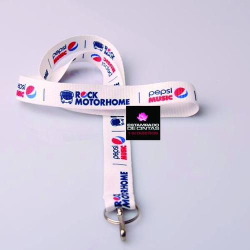 cintas llaveros collar pendrive credencial eventos logos
