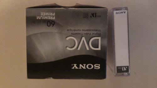 cintas mini dv de 60 min sony (nuevas)