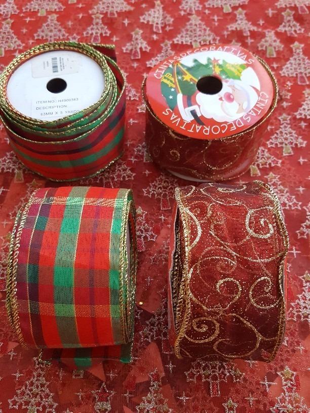 7e5f87911f2df cintas navideñas alambradas. Cargando zoom.