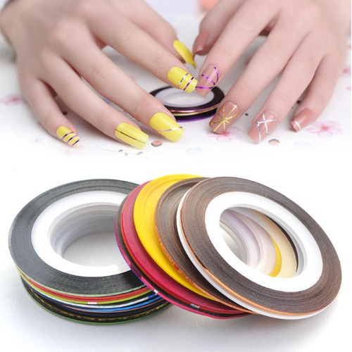 cintas para decorar uñas decoracion de uñas stickers