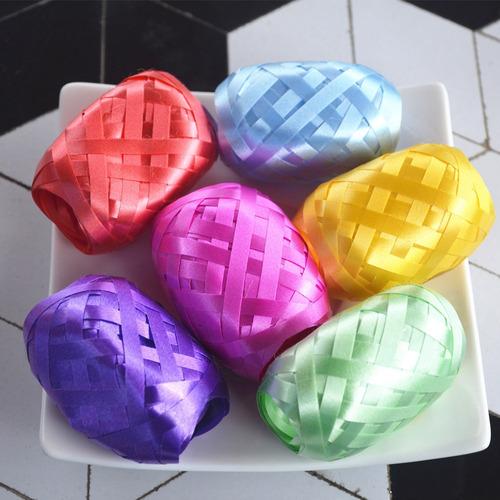 cintas para globos decoracion arreglos 10mts x 5mm multiuso