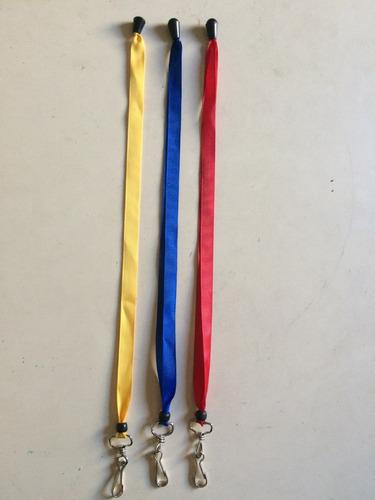 cintas porta carnet 3 pack disponibilidad inmediata..!!.