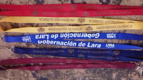 cintas porta carnet al mayor bs. 4200