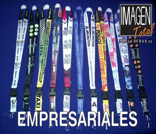cintas porta carnet sublimadas personalizadas full color