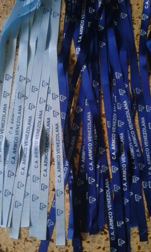 cintas porta carnets personalizadas bs. 5.500