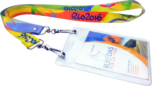 cintas porta carnets personalizadas lanyards adidas