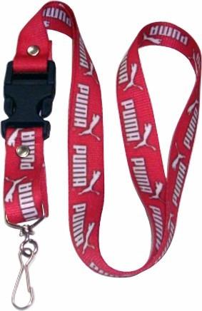 cintas porta carnets personalizadas lanyards puma