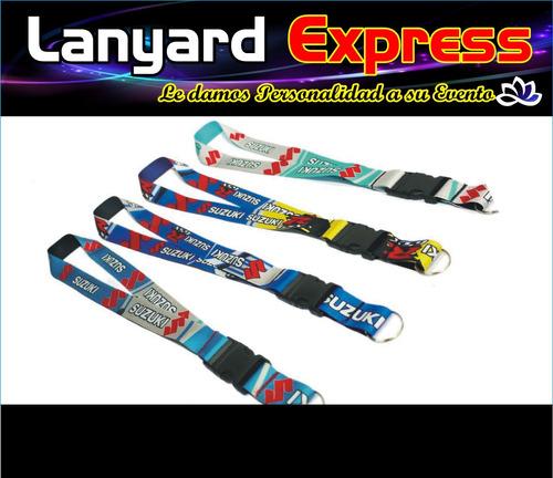 cintas porta carnets sublimadas, personalizadas bs. 18.000