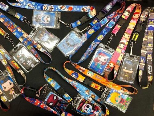 cintas porta gafete para el regreso a clases, varios modelos