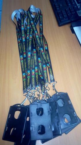cintas portacarnet personalizadas