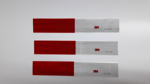cintas reflectivas magneticas 3m placas imantados para auto