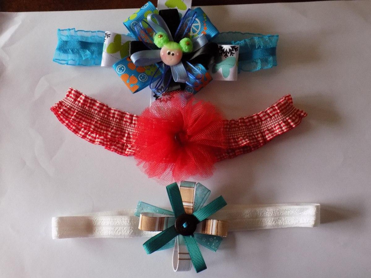 cintas y lazos para bebes y ias