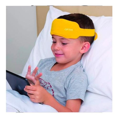 cintillo gel para niños amarillo ptm para fiebre
