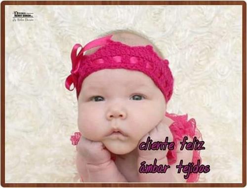 cintillo tipo corona para niña