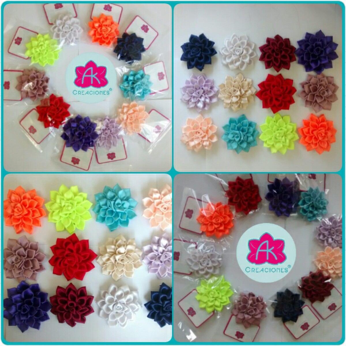 Cintillos ganchos para el cabello lazos flores para for Ganchos de plastico para cortinas