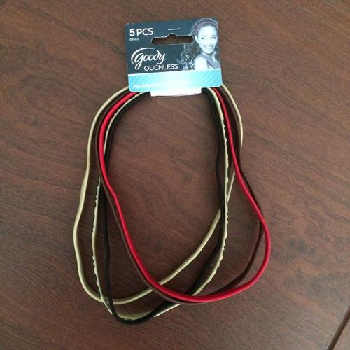 cintillos - hairbands (paquete de 5)