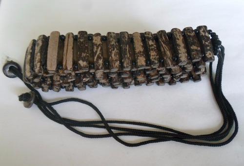 cinto artesanal de coco ref: 1953 - antonio bijuterias