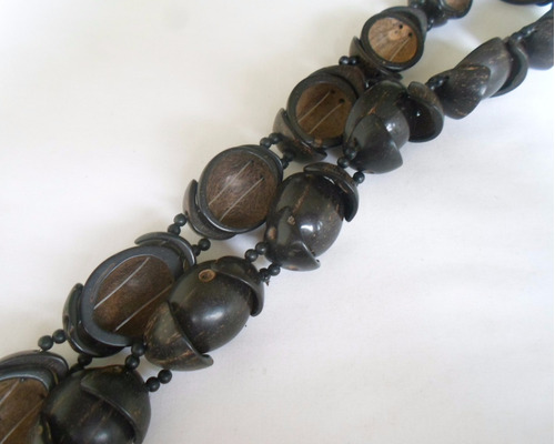 cinto artesanal de coco ref: 1954 - antonio bijuterias
