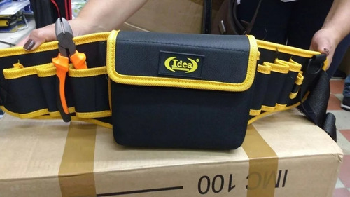 cinto bolsa porta ferramentas eletricista cartucheira bolsos