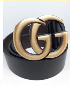 480bef683ce Cinturon Gucci Doble G Cinturones Hombre - Accesorios de Moda en ...