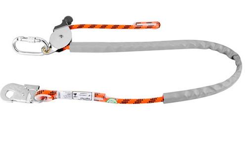 cinto e talabarte posicionamento de corda poste eletricista