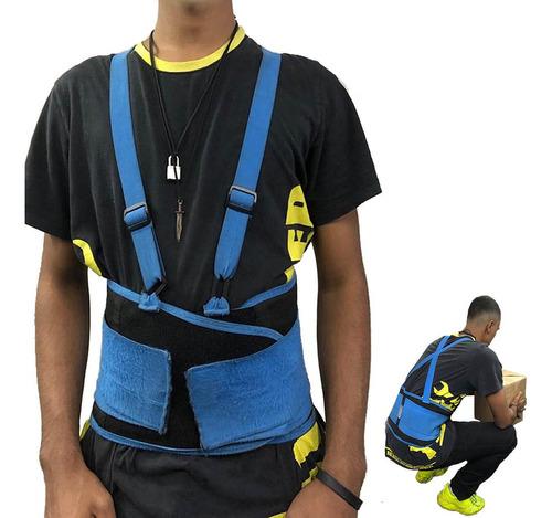 cinto ergonômico com elástico epi segurança tamanho m