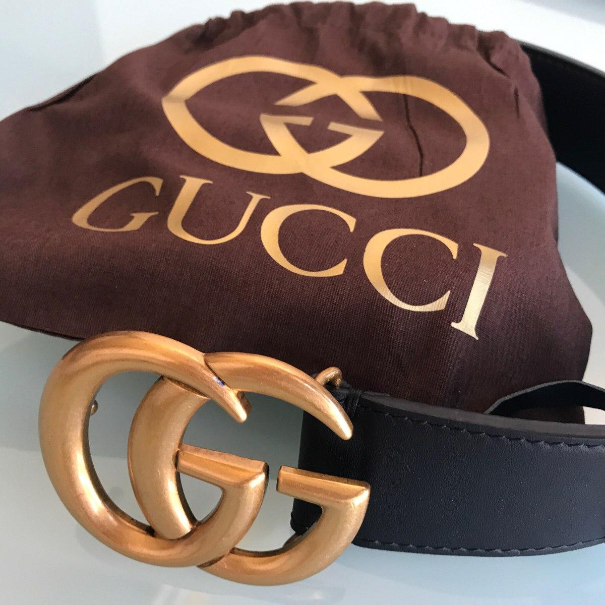 Cinto Feminino Gucci - Original - Importado - Couro Legítimo - R ... 0a578ab725