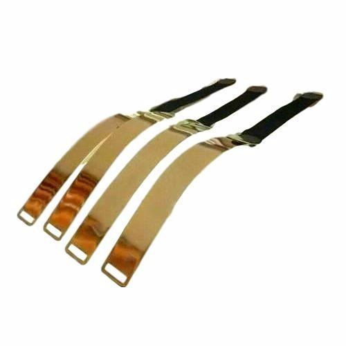 cinto feminino placa metal belt dourado luxo preto