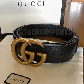 a488e7500 Cinto Gucci + Lv Preto - Calçados, Roupas e Bolsas no Mercado Livre ...