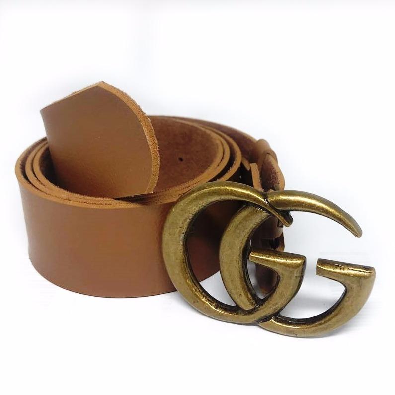 6a5b2397f27b3 Cinto Gucci Fivela Ouro Velho Feminino Sem Costura Promoção - R  39 ...