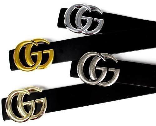 2d55324c29bcc Cinto Gucci Gg Feminino Couro Legítimo - R  67,90 em Mercado Livre