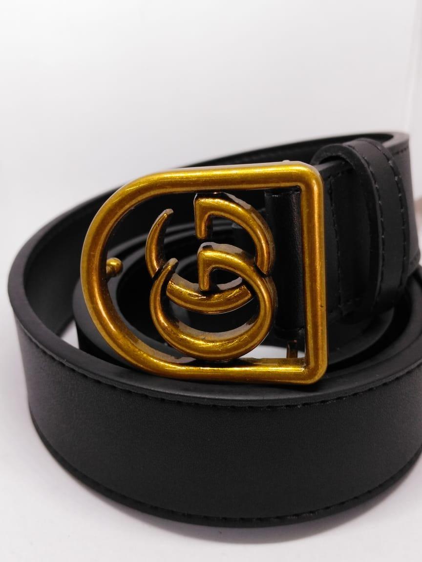 1b97a8de5 Cinto Gucci Negro Modelo Nuevo Para Caballero. - $ 620.00 en Mercado ...
