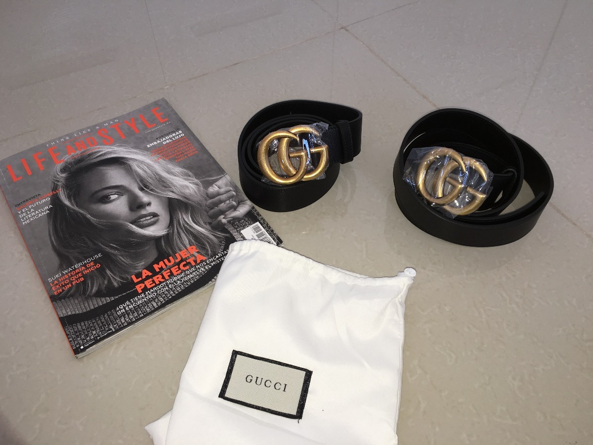 Cinto Gucci Original -   3 d8336860fb8