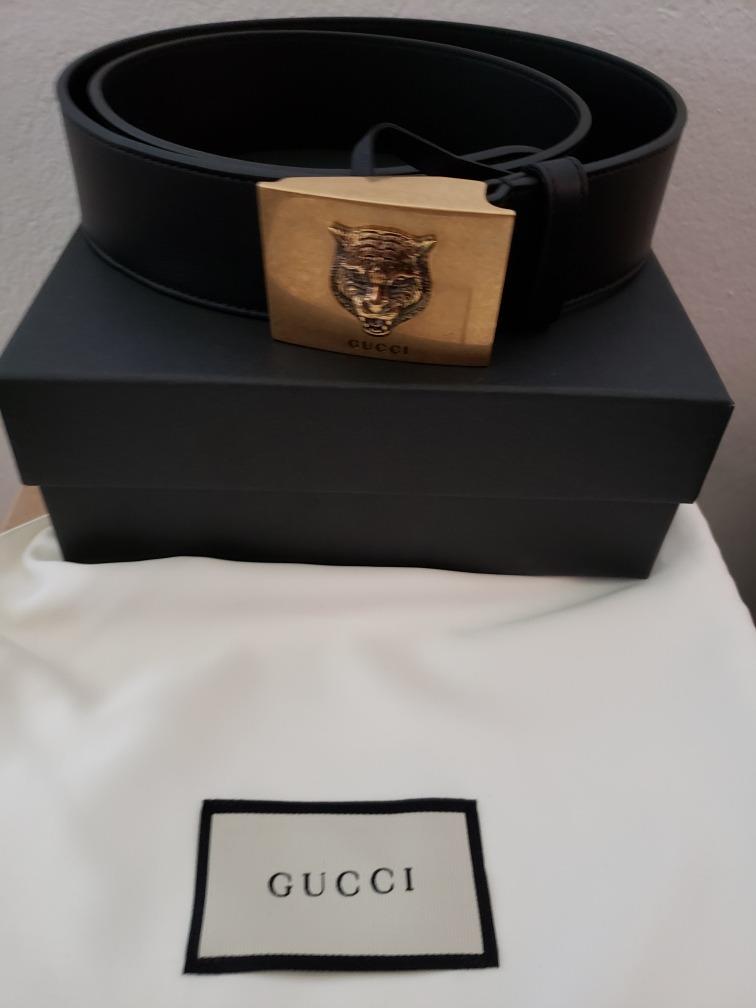 3cb9adc01e Cinto Gucci Original Ultima Peça/ Acompanha Nota Fiscal - R$ 800,00 ...