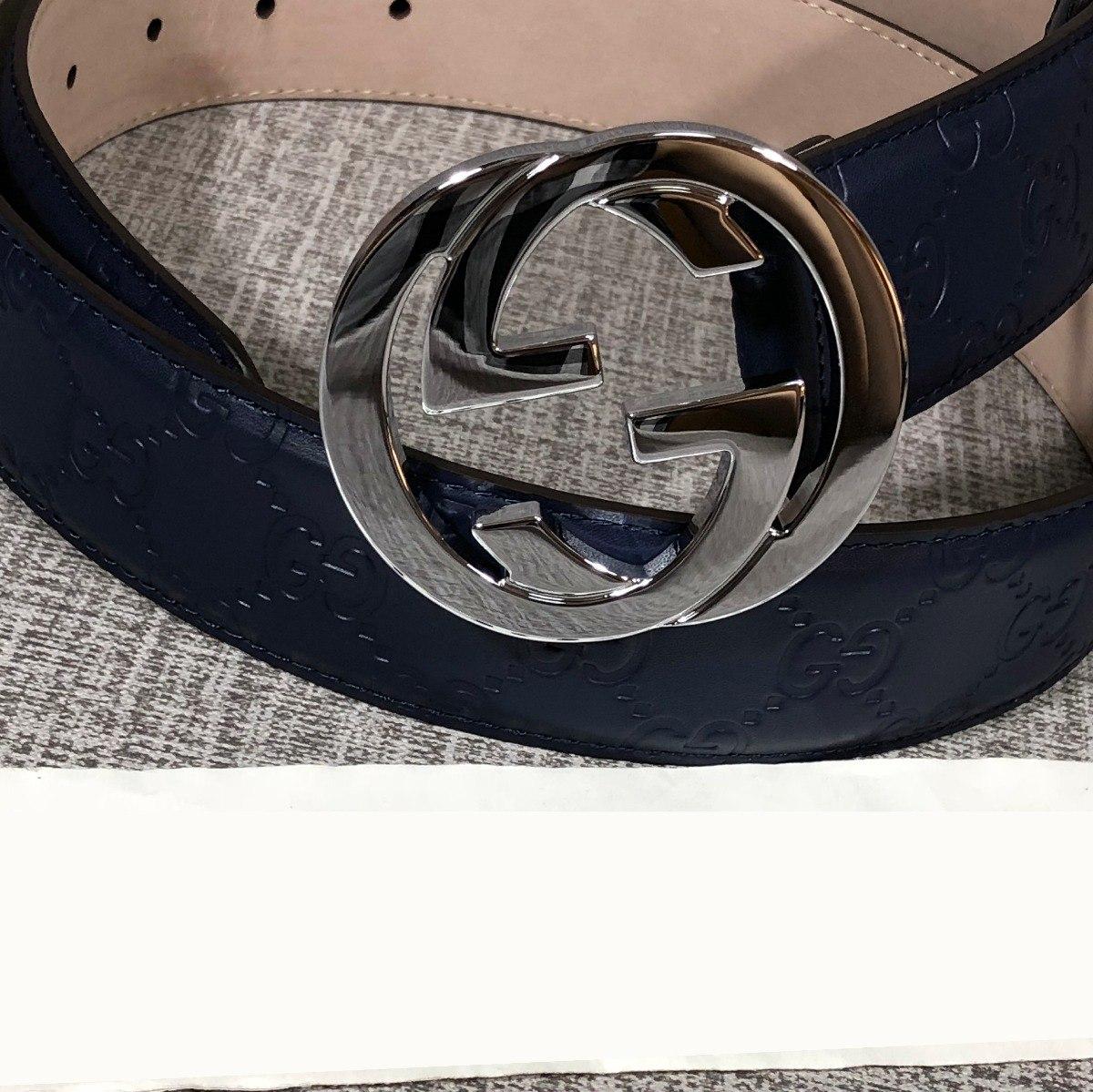 7a6d9736a Cinto Gucci Para Hombre - $ 3,700.00 en Mercado Libre