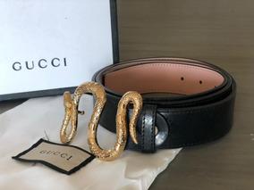 384d7cff8 Cinturon Gucci Guccisima Negro Nuevo - Cinturones de Hombre Negro en ...