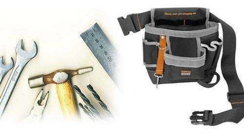 cinto organizador bolsa para ferramentas eletricista 8 bolso