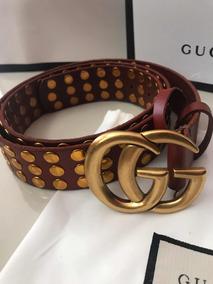 5739fabd6 Cinturones Gucci Guccissima, Modelo Original Negro Cafe - Cinturones ...