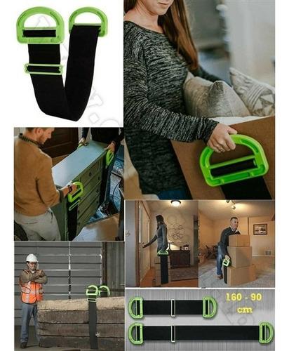 cinto para carregamento de moveis caixas transporte elevacao