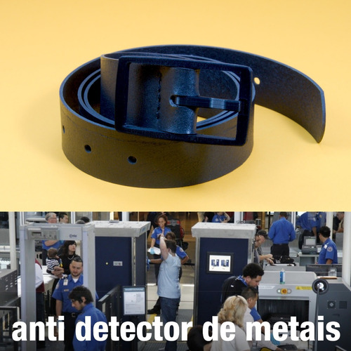 cinto para viagem - anti detector de metais / anti alérgico