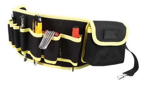 cinto porta ferramentas eletricista cartucheira carpinteiro