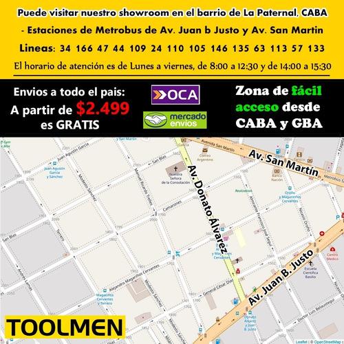 cinto porta herramientas toolmen t200 mas t35 reforzados