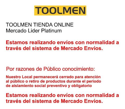 cinto porta herramientas toolmen t23 mediano económico + t95