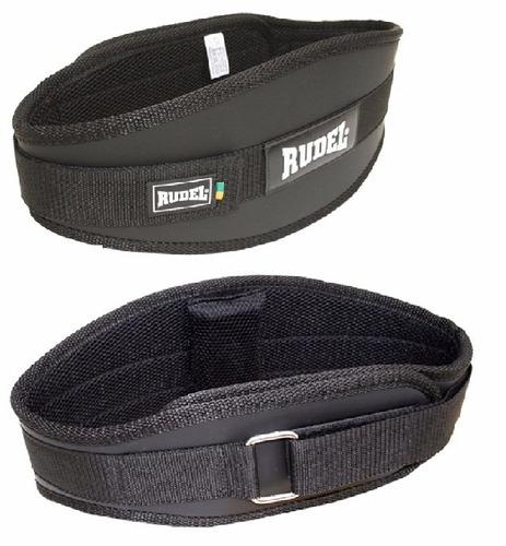 cinto rudel - cinturão para musculação cinta agachamento