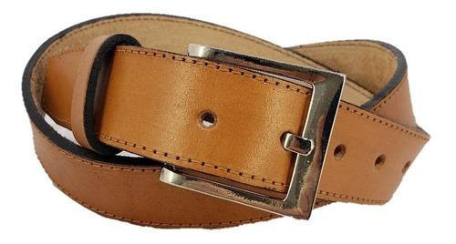 cinto sport 100% cuero 30mm le boutique c 118 marrón suela