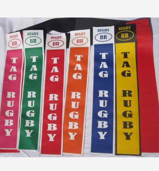 cinto tag rugby kit com 20 p escolar iniciação r 220 00 em