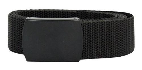 cinto tático produzido em nylon com fivela preto